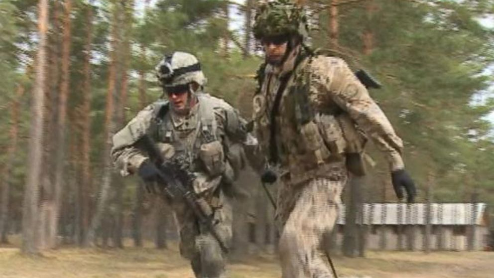 VIDEO: US Troops in the Shadow of Russia