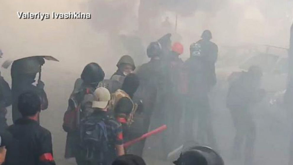 VIDEO: Turmoil in Ukraine Reaches Boiling Point