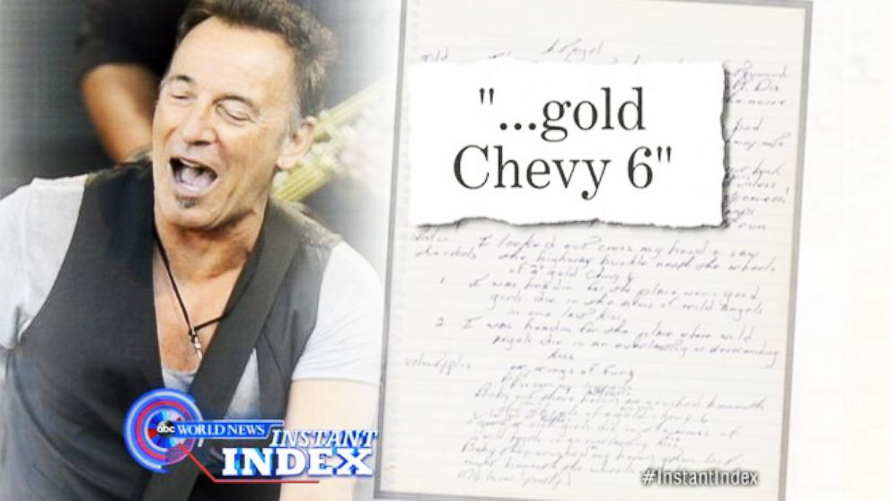 "VIDEO: Instant Index: The Truth Behind Springsteens ""Born to Run"""