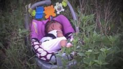 VIDEO: A Jogger Finds a Baby Abandoned in a Field.
