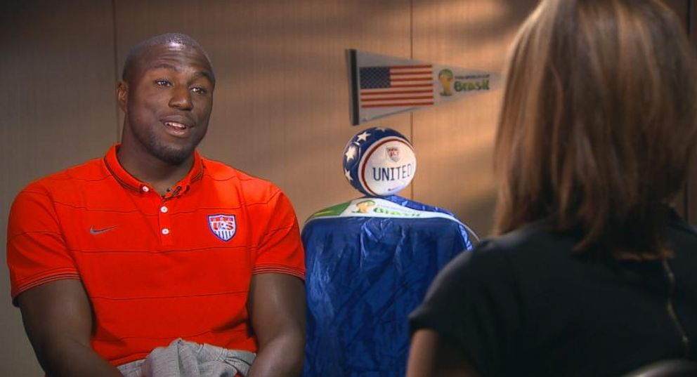 USA Soccer Star Jozy Altidores Important Mission Off the Field