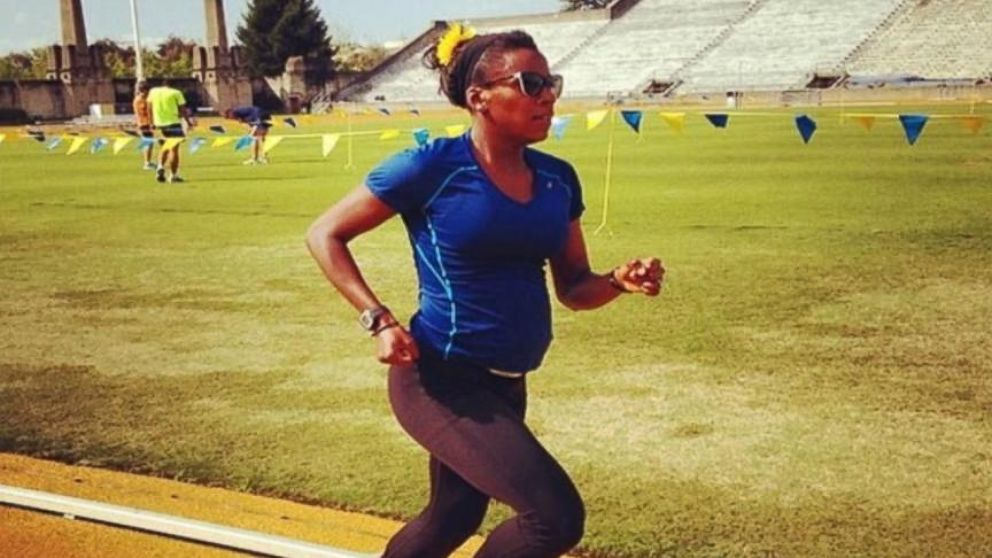 VIDEO: Alysia Montano competed in U.S. Track and Field Championships while 8 months pregnant.