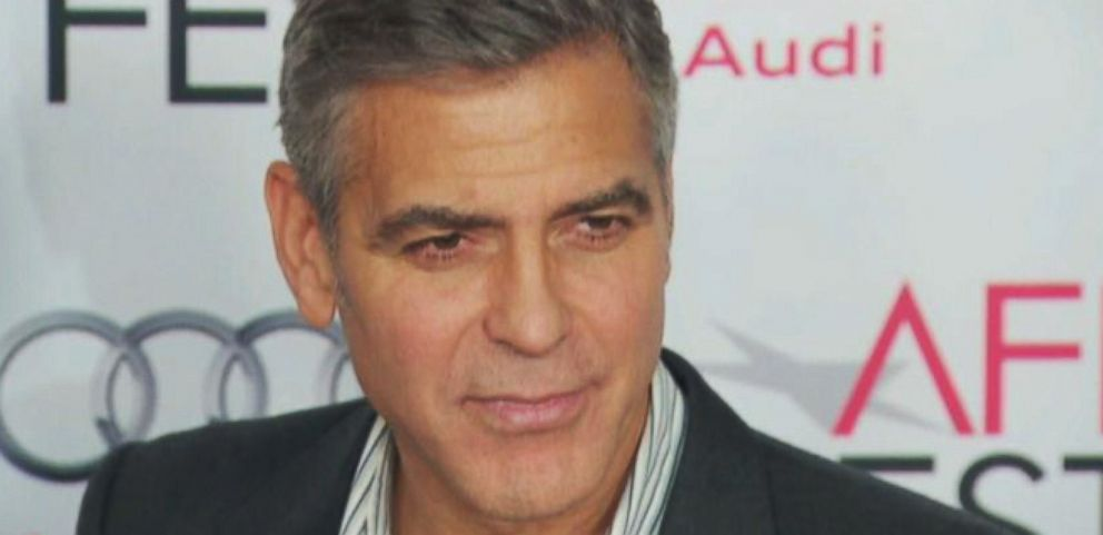 VIDEO: George Clooney Takes on the Press