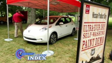 VIDEO: Instant Index: Self-Cleaning Car of the Future