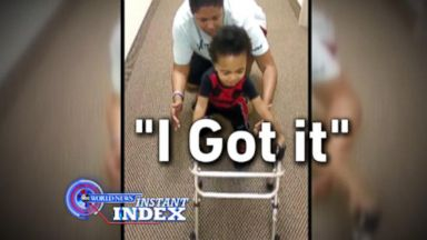 VIDEO: Instant Index: A Little Boys Inspiring Will to Walk