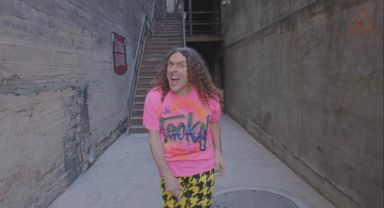 Weird al on why he thought his career would only last a few months now playing weird al targets internet fans in latest music video project ccuart Images