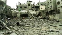 VIDEO: UN Shelter Hit By Israeli Missiles in Gaza