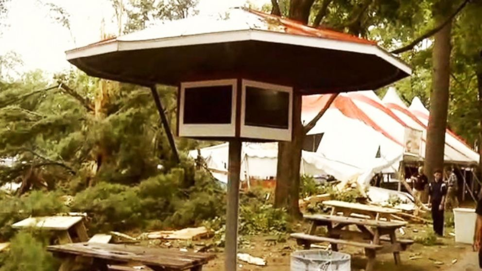 VIDEO: Deadly Tornado Tears Through Virginia Campground, Killing NJ Couple