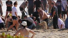 VIDEO: Sand Tunnels Pose Deadly Safety Risk at Beach
