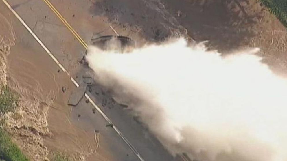 VIDEO: Huge Water Main Break Spews 20 Million Gallons of Water at UCLA