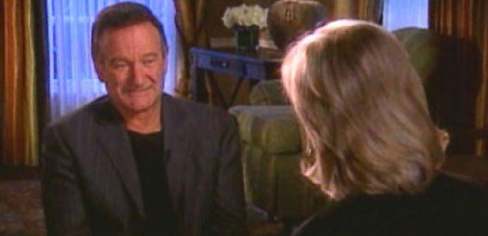 VIDEO: Robin Williams Talks About Addiction in 2006 Interview With Diane Sawyer