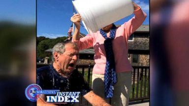 VIDEO: Instant Index: George W. Bushs Funny Presidential ALS Ice Bucket Challenge