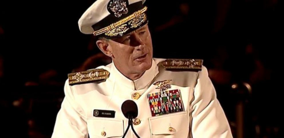VIDEO: Adm. William McRavens Inspirational Words