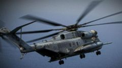 VIDEO: Military Helicopter Crashes in Middle East