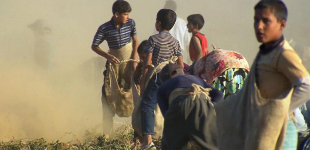 VIDEO: Child Refugees From Syria Now Working to Support Their Families