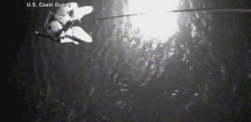 VIDEO: Watch Amazing Rescue: Fisherman Adrift for More Than 30 Hours After Boat Sinks