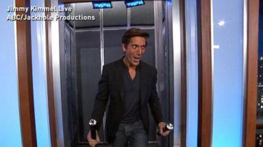 VIDEO: David Muir Visits Jimmy Kimmel