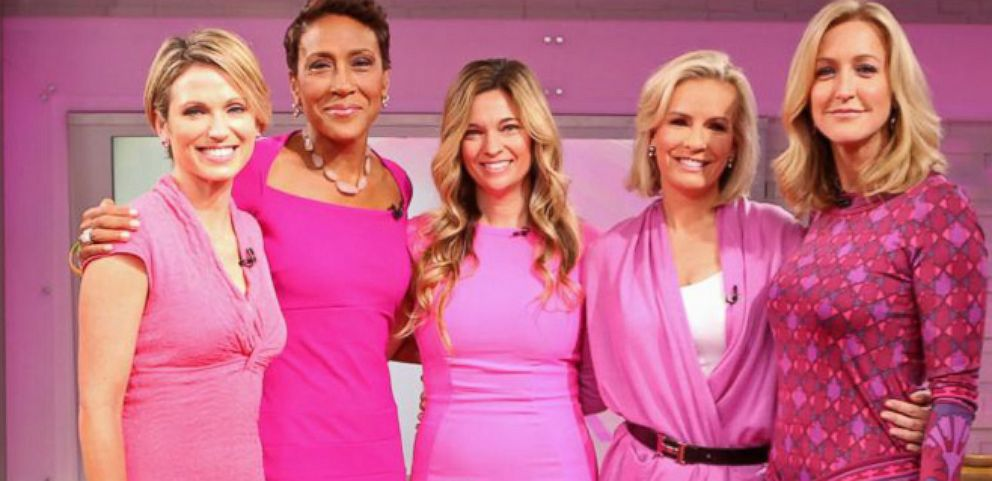 VIDEO: ABC News Goes Pink for October Breast Cancer Awareness