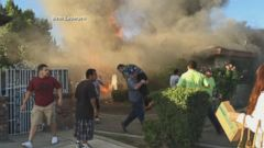 World News 10/19: Home Fire Burning Out of Control in California