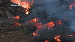 VIDEO: Air Quality Warnings Caused By Smoldering Hot Lava in Hawaii