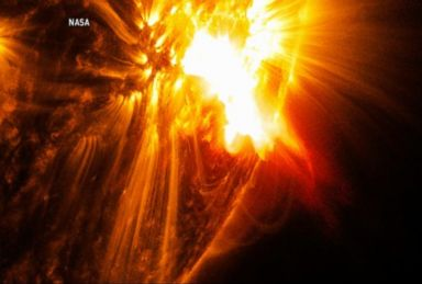 VIDEO: Astronomers Keeping an Eye on the Biggest Solar Flare in Nearly a Quarter Century