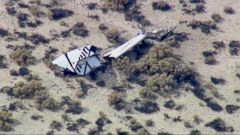 VIDEO: Virgin Galactic Rocket Plane Accident Leaves 1 Pilot Dead