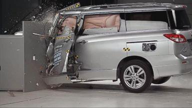 Instant Index: Minivans Receive Worst Crash Test Ratings