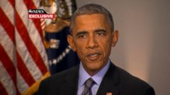 VIDEO: President Obama Discusses Ferguson; Stresses Importance of Non-Violence