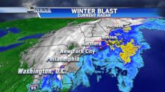 VIDEO: Timing the Noreaster: Thanksgiving Forecast