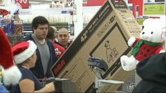 VIDEO: Americans Rush to Get the Best Holiday Deals