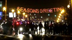 VIDEO: Protests in Ferguson, Missouri Begin to Cool Down
