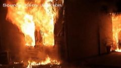 VIDEO: Toddler Jumps to Safety From a Burning Building in Alabama