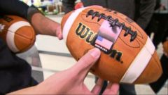 VIDEO: Wilson Football Equipment Handmade in America