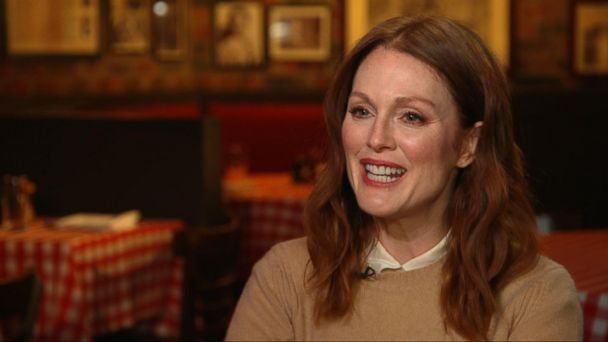VIDEO: Julianne Moore on Her Roles, Her Life and Who She's Standing Up For