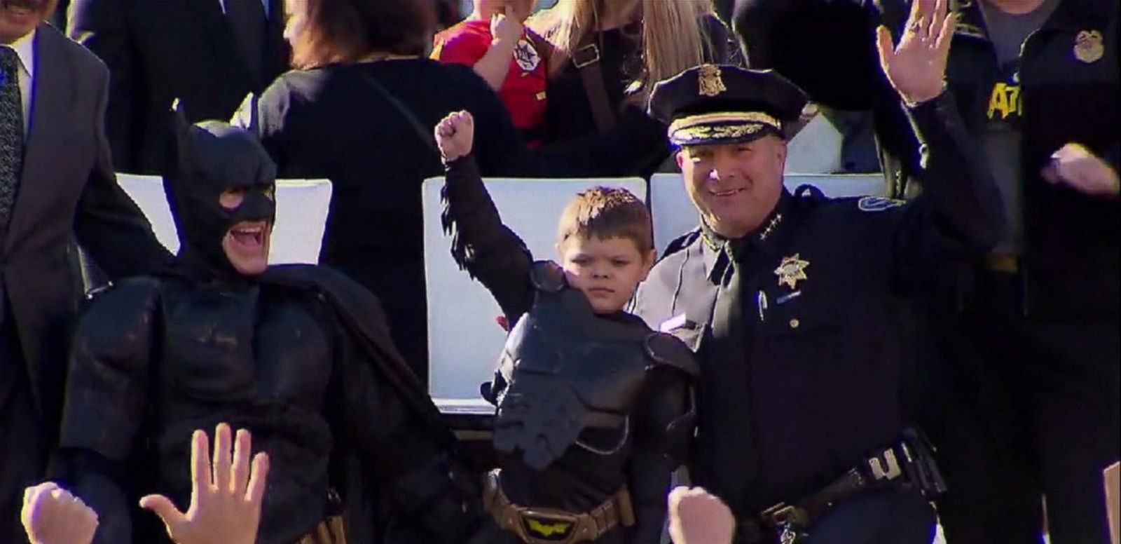 VIDEO: Batkid's Superpowers Take on San Francisco