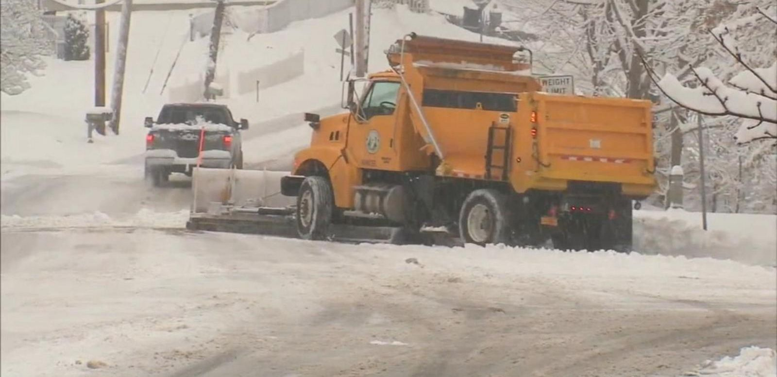 VIDEO: Brutal Winter Weather Pounds the Nation