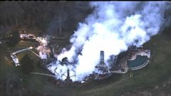 VIDEO: Christmas Tree to Blame in Maryland Mansion Fire