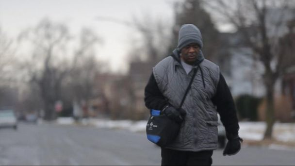 VIDEO: James Robertson Commutes 21 Miles to Get Back and Forth to His Job in Detroit