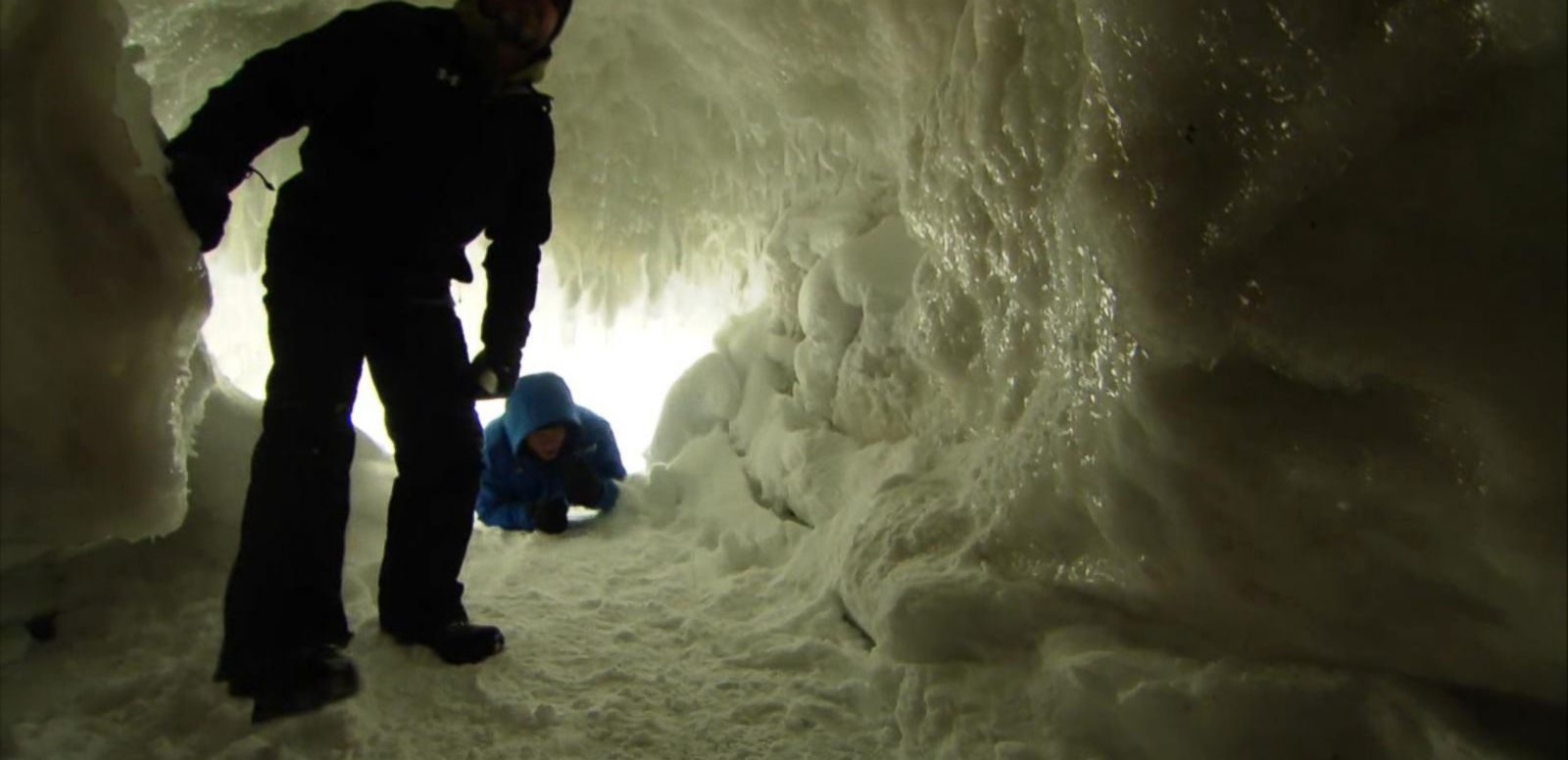 VIDEO: Explore a Rare Ice Cave