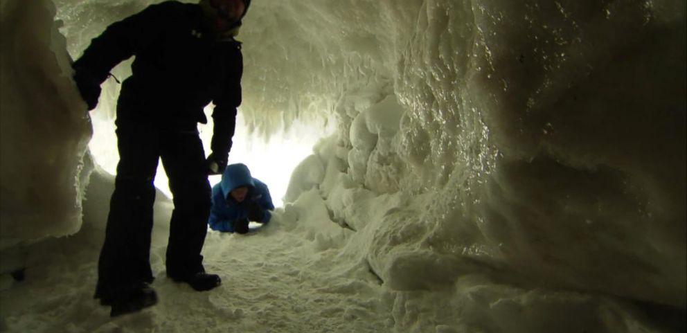 VIDEO: Explore a Rare Ice Cave
