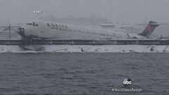 VIDEO: Delta Airplane Crashes Through Fence at LaGuardia Airport in New York