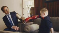 VIDEO: Little Boy Gets a Robotic Arm From Iron Man
