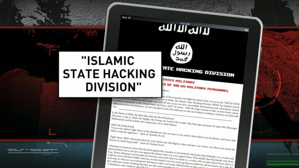 VIDEO: Group Claiming ISIS Tie Posts Hit List of US Service Members Online
