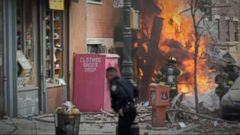 VIDEO: 7-Alarm Fire, a Building Collapse in New York Citys East Village