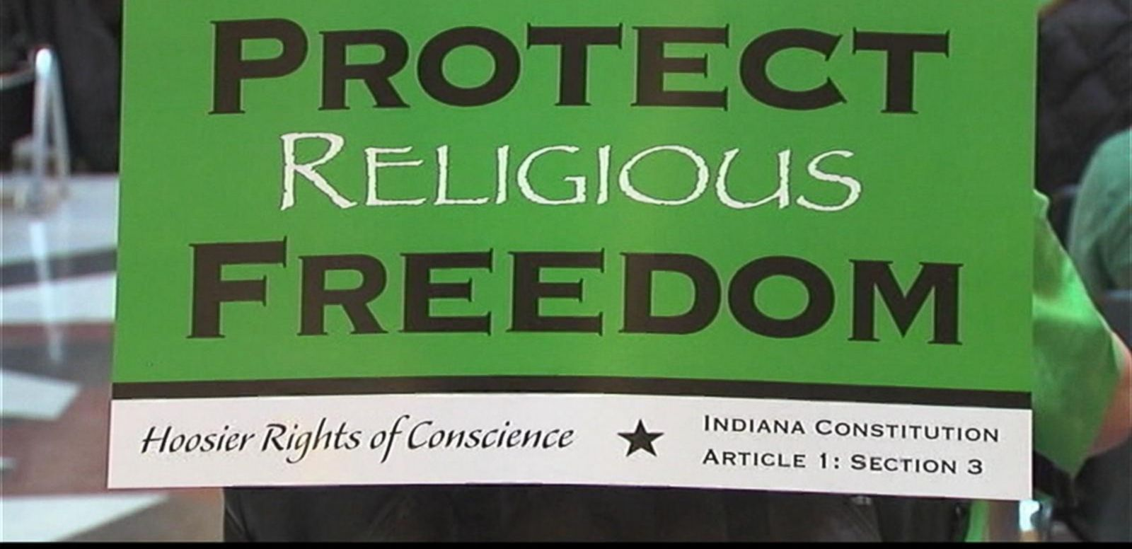 VIDEO: Political Firestorm Brews Over Indiana's 'Religious Freedom' Law