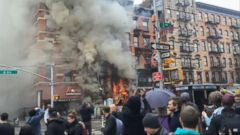 VIDEO: Cause of Manhattan Building Explosion May Have Been Criminal Related