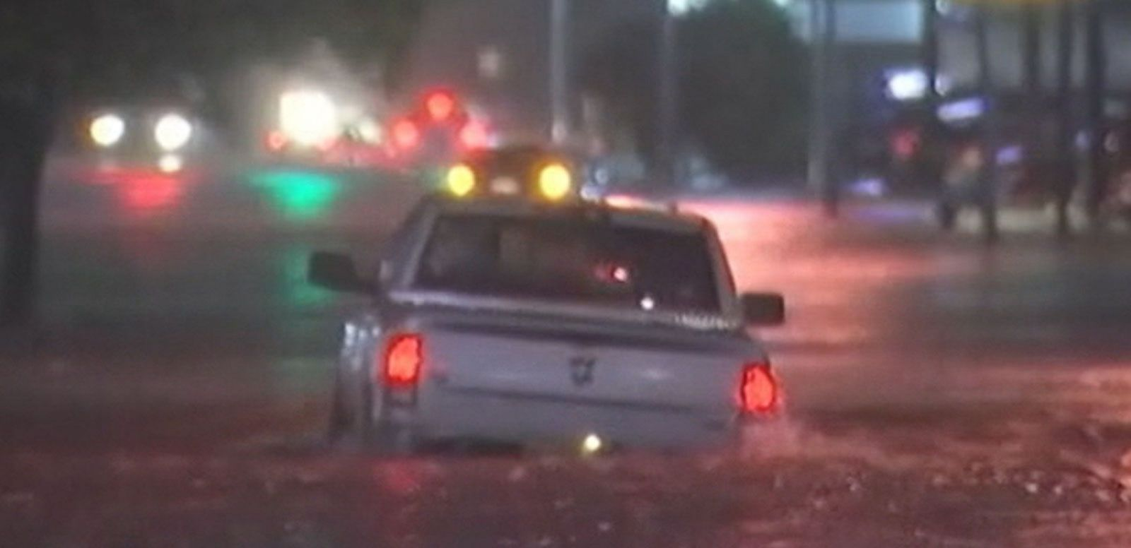 VIDEO: Torrential Rains Drench Texas