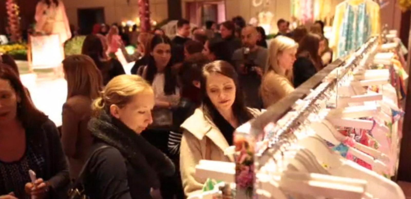 VIDEO: Customers Flock to Target for Launch of Lilly Pulitzer Line