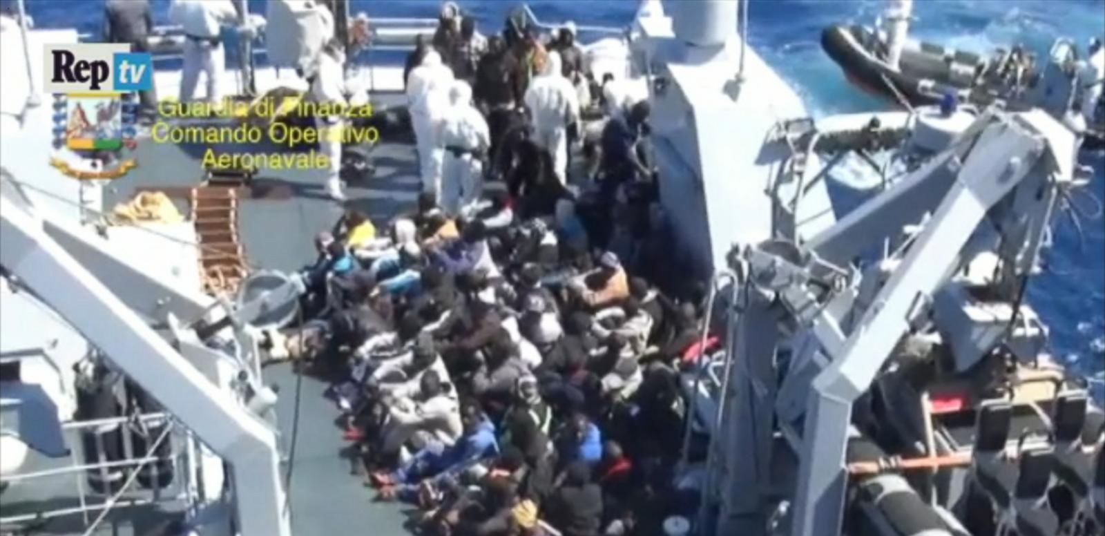 VIDEO: Hundreds Feared Dead After Boat Carrying Migrants Capsizes