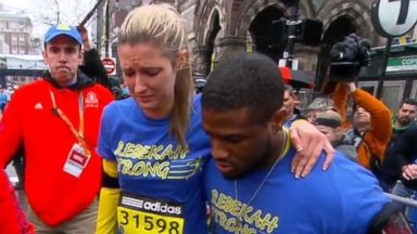 VIDEO: WN 04/20/15:  Emotional Day at the Boston Marathon